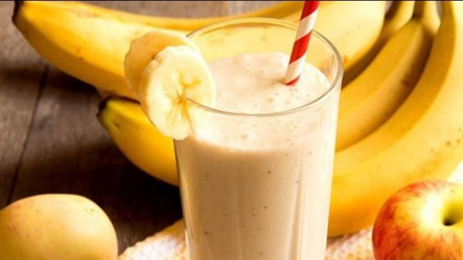 Jus pisang.
