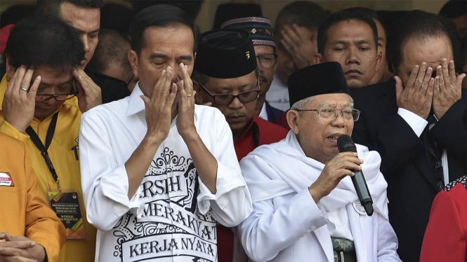 Jokowi dan Ma'aruf Amin