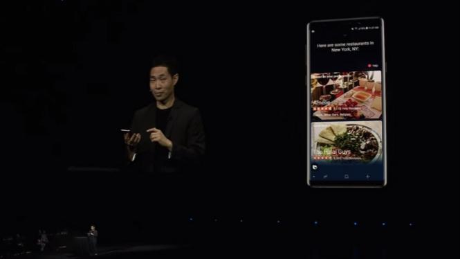 Samsung pamer kemampuan Bixby 2.0.