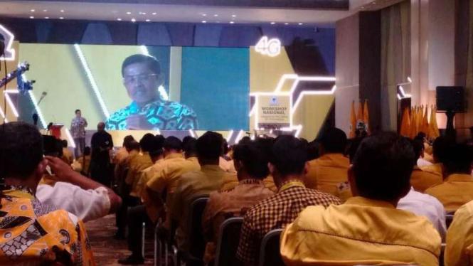 Golkar gelar konsolidasi workshop untuk Pemilu 2019