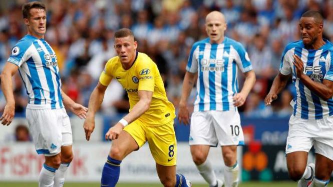 Duel Huddersfield Town vs Chelsea.