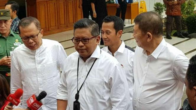 Sekretaris TKN, Hasto Kristiyanto