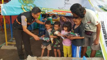 Penanganan trauma untuk anak-anak korban gempa di Lombok