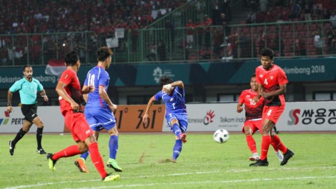 Indonesia vs Taiwan di Asian Games 2018