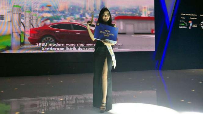 Miss Auto Show 2018, Vivian Wijaya