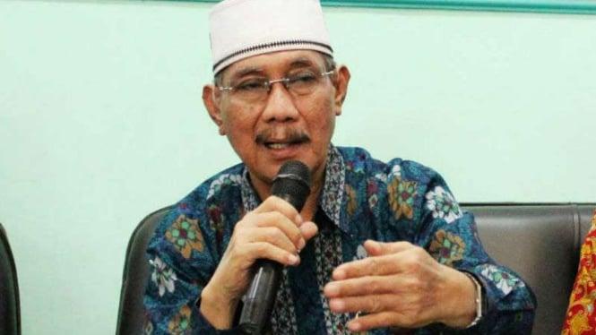 Choirul Anam atau Cak Anam, Ketua Dewan Penasihat Pergerakan Penganut Khittah Nahdliyah atau PPKN.