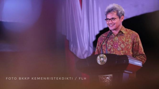 Sekretaris Jenderal (Sesjen) Kemenristekdikti Ainun Na'im