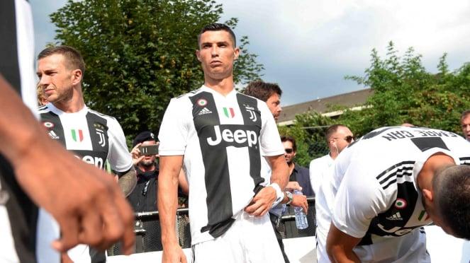 Penampilan Cristiano Ronaldo di laga pra musim Juventus