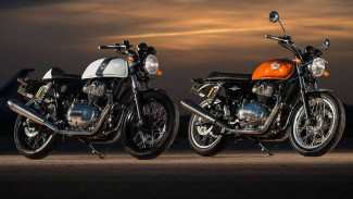 Royal Enfield Continental GT Twin dan Interceptor 650