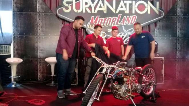 Motor custom karya dua builder Indonesia