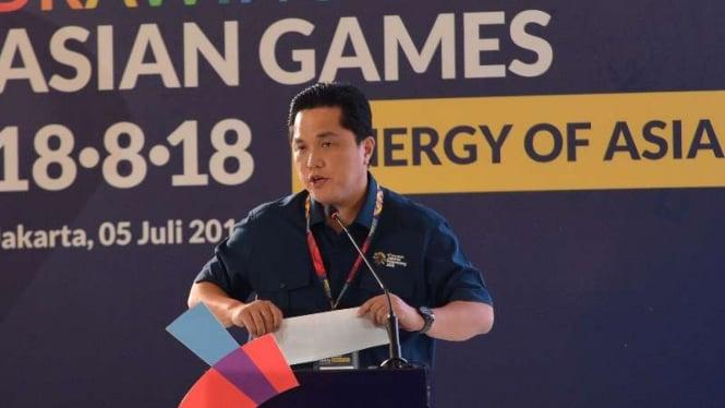 Ketua INASGOC, Erick Thohir