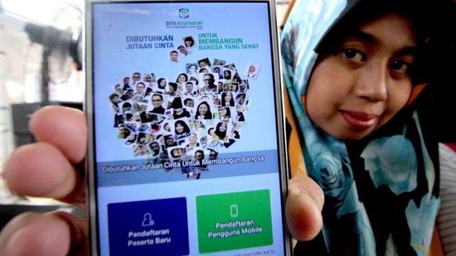 Aplikasi digital dari Badan Penyelenggara Jaminan Sosial (BPJS) Kesehatan