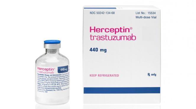 Obat untuk penyakit Kanker Payudara, Trastuzumab