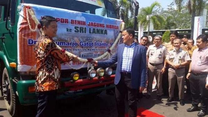 Direktur Jenderal Tanaman Pangan, Kementerian Pertanian Sumarjo Gatot Irianto