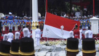 (Foto Ilustrasi) Upacara HUT Kemerdekaan RI ke-73 di Istana Merdeka, Jakarta