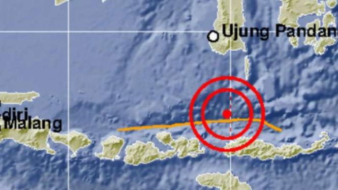 Gempa 6,7 SR di NTT, Jumat 17 Agustus 2018