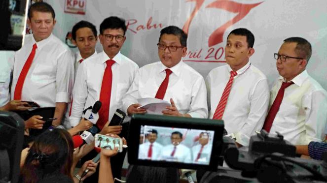 Koalisi Jokowi di KPU