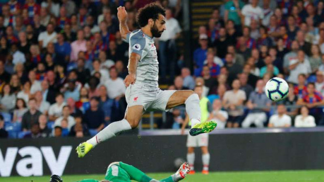 Winger Liverpool, Mohamed Salah.