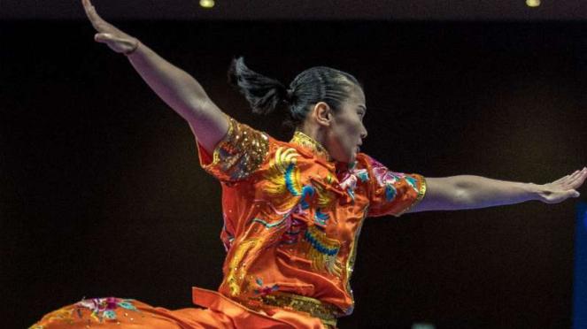 Atlet wushu Indonesia, Felda Elvira Santoso.