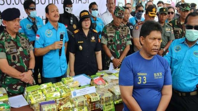 Politikus Nasdem Ibrahim Hasan ditangkap BNN terkait bisnis narkoba