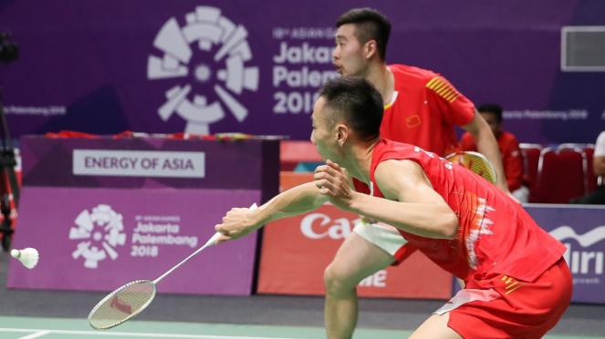 Fajar Rian vs Zhang Nan Liu Cheng
