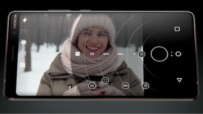 Kamera Nokia dilengkapi lensa Google