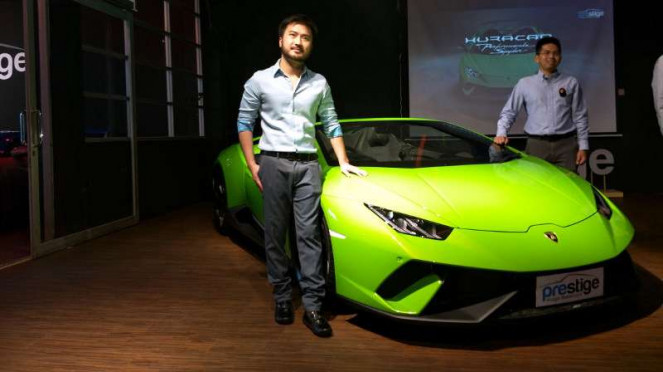 Peluncuran Lamborghini Huracan Performante Spyder di Jakarta
