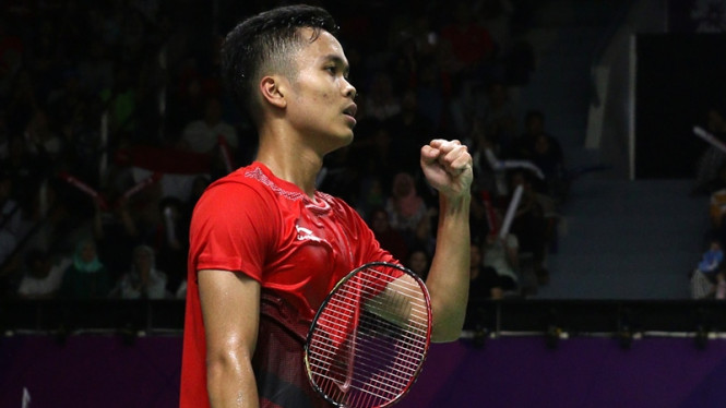 Tunggal putra Indonesia, Anthony Ginting
