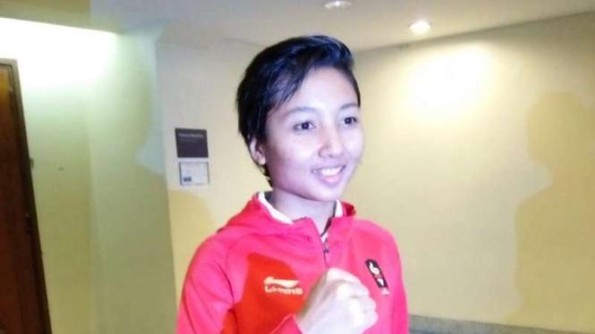 Atlet karate putri Indonesia, Cokorda Istri Agung Sanistyarani.