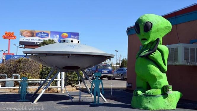 Kota Roswell di New Mexico.