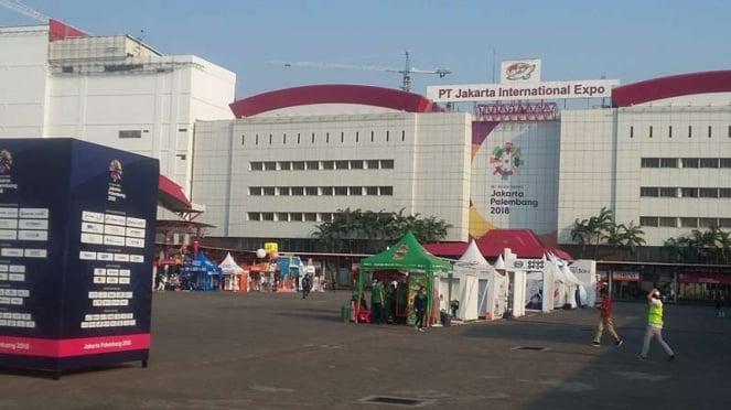Venue Asian Games di JI EXPO