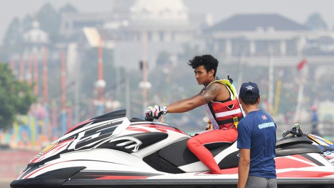 Aqsa Sutan Anwar, atlet jetski Indonesia