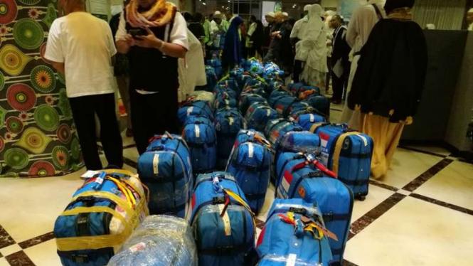 Koper jemaah haji Indonesia.