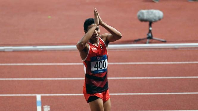 Lalu Muhammad Zohri tak menyangka dapat bersaing dengan pelari kelas dunia
