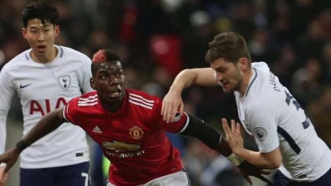 Pertandingan Manchester United vs Tottenham Hotspur di ajang Premier League