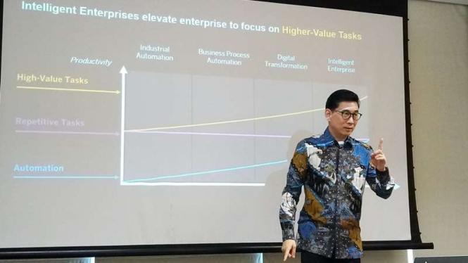 Managing Director SAP Indonesia, Andreas Diantoro.
