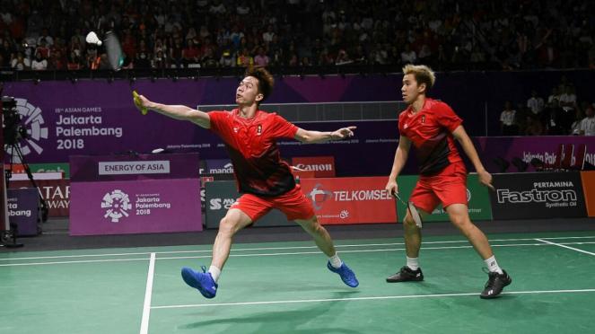 Kevin/Marcus Juara Ganda Putra Bulutangkis Asian Games