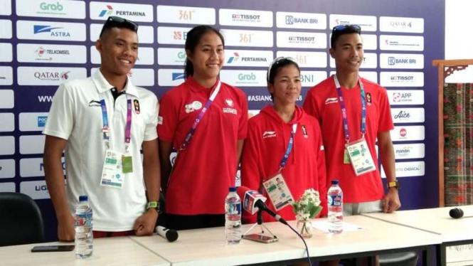 Atlet Triathlon Indonesia di Asian Games 2018