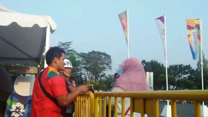 Kisruh tiket Asian Games di GBK.