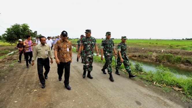 Direktur Jenderal Prasarana dan Sarana Pertanian (PSP) Pending Dadih Permana