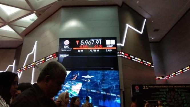 Bursa Efek Indonesia.
