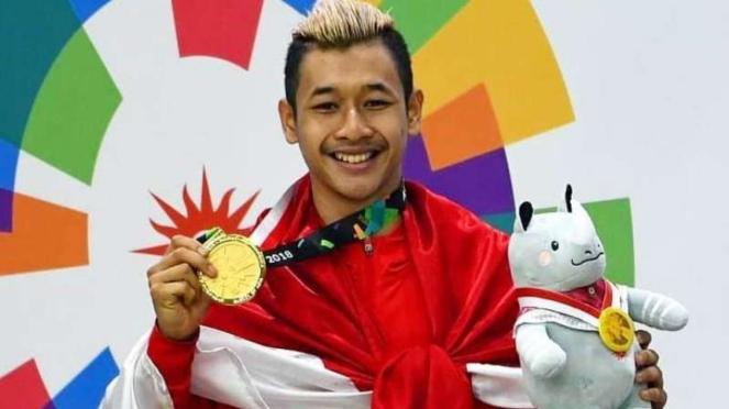 Atlet Silat Indonesia, Hanifan Yudani Kusumah.