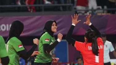 Pemain voli putri Indonesia