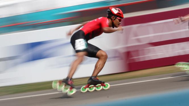 Sepatu Roda Balap 20 Km Putra