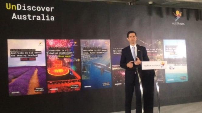 Menteri Perdagangan, Pariwisata, dan Investasi Australia, Simon Birmingham