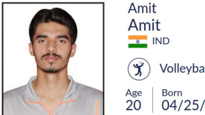 Atlet Asian Games, Amit Amit