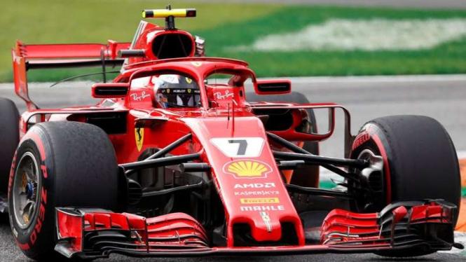 Pembalap Tim Ferrari, Kimi Raikkonen