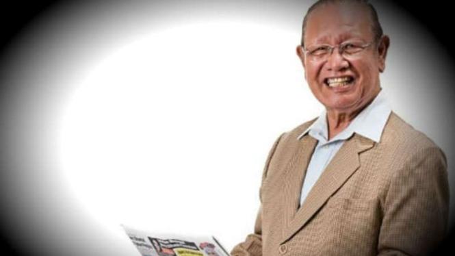 jurnalis senior Poskota dan mantan ketua PWI, H Sofyan Lubis