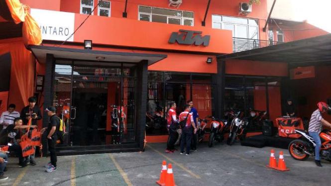 Diler baru KTM di Bintaro, Jakarta Selatan