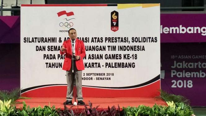 Chief de Mission (CdM) Asian Games 2018, Komjen Pol. Syafruddin Prawiranegara